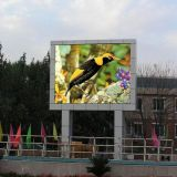 Haute résolution P6 DIP affichage LED en couleur de plein air
