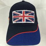 Sombrero y casquillo modificados para requisitos particulares del deporte del béisbol del bordado del diseño