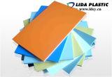 Lamiera sottile colorata PVC dell'espulsione