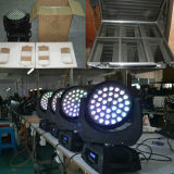 36X18W RGBWA 6en1+Zoom UV Beam laver la tête mobile Mini LED lumière