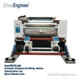 Máquina que raja auto de tres motores para el papel de papel de aluminio