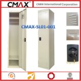 De enige Kast van het Staal van de Deur met Kaart en Duurzame Structuur cmax-SL01-001 van de Naam van de Opening van de Lucht
