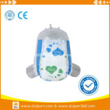 Super Absorção Fraldas para bebés Ultra-fino com fita mágico