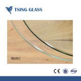 Prédio temperado vidro temperado com borda plana triplo bisel Borda a Borda de lápis Polidos