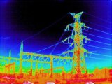Detecção de temperatura à prova de explosão de Imagem Térmica Câmara PTZ