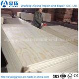 紙やすりで磨かれる双方が付いている工場直売のマツ合板