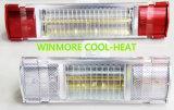 Calefactor de infrarrojos calentador de agua del calentador de cuarzo para la tienda