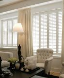 2017 Most popular Design Top quality Wood or PVC Plantation Shutter