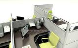 Ouvrir le poste de travail linéaire de bureau avec le bureau de directeur de mélamine (HF-YZ0103)