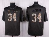 Pullover lungo di gioco del calcio di Crabtree Jackson Janikowski del bottaio di Oakland Allen Carr