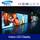 Hohe Definition an der Wand befestigte RGB-LED-Bildschirmanzeige P3 Innen