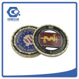 Do metal redondo comemorativo das moedas da lembrança moeda antiga feita sob encomenda