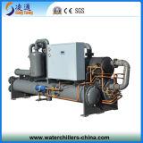 Refrigeratore raffreddato ad acqua della vite di temperatura insufficiente (- 20C)