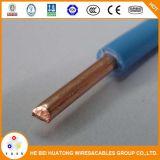 Tipo di rame solido collegare elettrico di 450/750V Cu/PVC