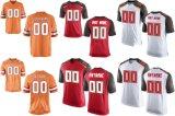 Тампа Бэй элитная игра красного оранжевого цвета Белый американского футбола футболках NIKEID