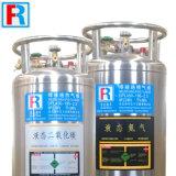 210L低温学のDewar、低温液化ガスシリンダー