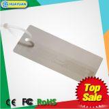 Amostras gratuitas 860-960MHz H3 Tag jóias RFID UHF de PVC para gestão de inventários