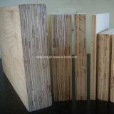 Folha de madeira laminada de isolamento elétrico