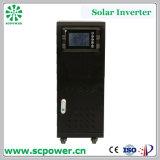 Inversor híbrido 15kVA da potência solar de fase monofásica de preço razoável do uso da exploração agrícola com MPPT