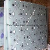 실크스크린은 장식적인 유리를 위한 유리제 실크스크린 유리를 꾸몄다