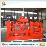 6 인치 - 높은 압력 산업 수평한 Centrifgual 디젤 엔진 수도 펌프