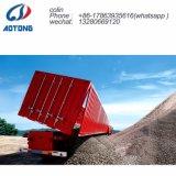 Tri-Axle Remolque basculante volquete de Transporte de piedras semi-remolque para venta