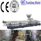 La línea de peletización plástico PE/PP HDPE LDPE de plástico reciclado de residuos de plástico de la máquina de peletización