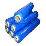 De PE transparente e a película de protecção de polietileno azul
