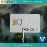 Cartão inteligente Smart Chip Chip4242 de contato