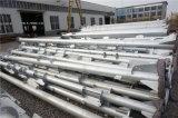 Heißes BAD galvanisierte Elektrizitäts-Übertragung Stahlpole, elektrischer Strom galvanisierter Stahlröhrenpole