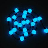 bolas cambiantes encendidas RGB de la Navidad del color del efecto 3D