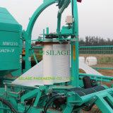 Pellicola di stirata della pellicola di uso della pressa per balle dell'involucro del silaggio della pellicola dell'imballaggio del silaggio del cereale