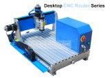 Ranurador de escritorio del CNC de 3 ejes del PWB del PVC de la carpintería de madera de cobre de aluminio suave de acrílico del metal pequeño