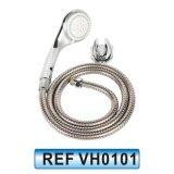 En PVC Double Douche de verrouillage de l'eau flexible pour la tête de douche (VH0104)