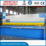 Maquinaria de corte do feixe hidráulico do balanço QC12Y-16X4000