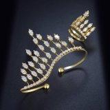 유일한 디자인 여자 형식 보석 실제적인 황금 종려 팔찌