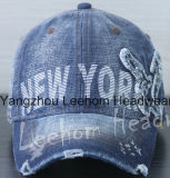 Gorra de béisbol Deporte Washed Denim Jeans Golf Ocio