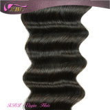 Xblの新しい毛の質の緩く深いバージンの加工されていないブラジルの毛