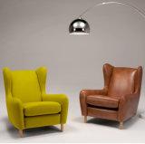 Leder-und Gewebe-Stuhl (NL-2030)