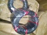 O cabo do anel de fita de vedação de borracha