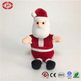 Santa Cluase rouge classique homme heureux cadeau de Noël un jouet en peluche