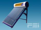 El tubo de aletas de cobre bobinado Medium-Pressurized Calentador de Agua Solar 802