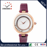 Novo OEM Japan Movement Lady Watch com impermeável