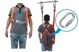 Polyester-Verdrahtungs-industrieller Sicherheitsgurt mit doppelter Material-Abzuglinie