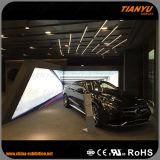 Высокая яркость реклама ткань с подсветкой LED освещения в салоне
