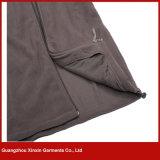 Revestimento Sleeveless do velo barato de Csutom, veste morna do velo do poliéster para o esporte (V37)
