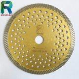 Il diamante il disco di taglio della lama per sega per il taglio marmorizzare il calcare silenzioso