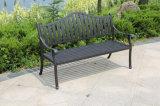 鋳造アルミの庭は安い屋外のベンチの屋外の家具をメンバーからはずす