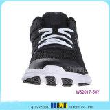 Zapatos del deporte del estilo de la noche del departamento que recorren superior