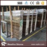 浴室の壁のための中国のNero黒いPortoroの金の大理石の平板